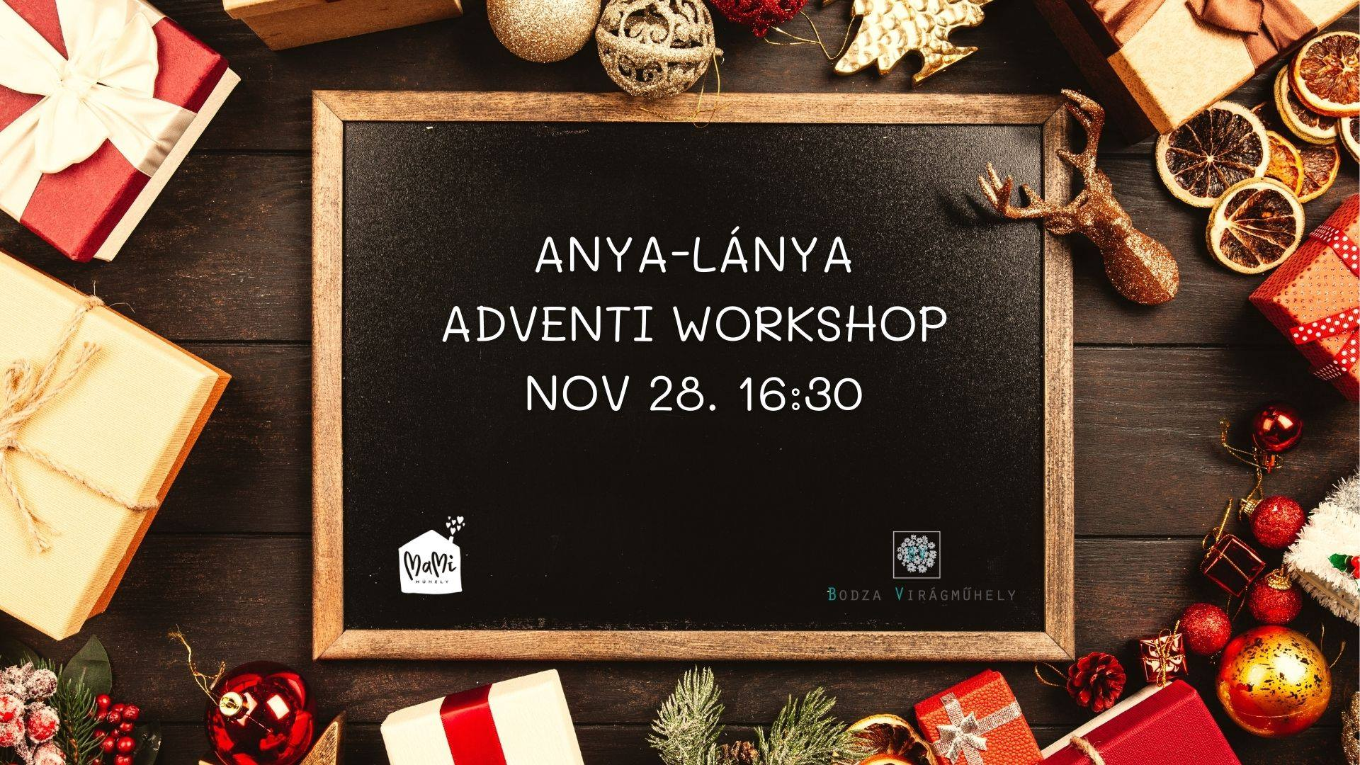 Anya-lánya adventi workshop